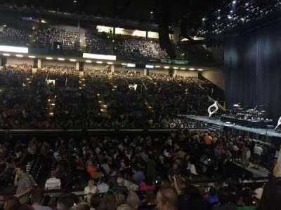 Royal Farms Arena, secção: 108, fila: J, lugar: 11