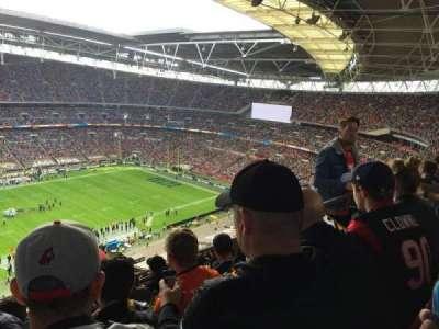 Wembley Stadium, secção: 503, fila: 24, lugar: 81