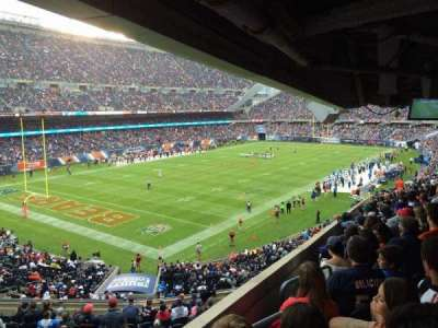 Soldier Field, secção: 216, fila: 19, lugar: 1