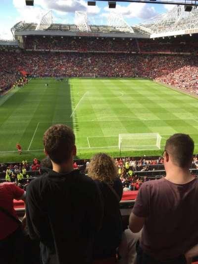 Old Trafford, secção: E333, fila: 4
