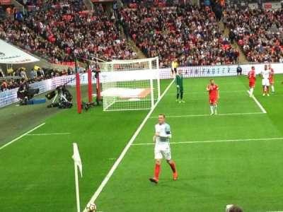 Wembley stadium, secção: 126, fila: 14, lugar: 109