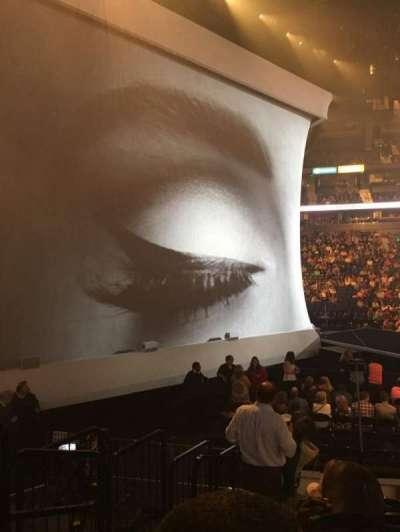 Bridgestone Arena, secção: 114, fila: JJ, lugar: 19