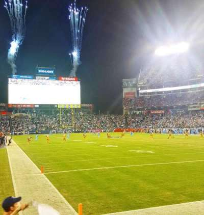 Nissan Stadium, secção: 103, fila: B, lugar: 6