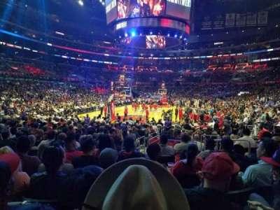 Staples Center secção 106