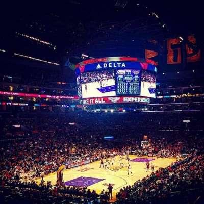 Staples Center, secção: 214, fila: 8, lugar: 10