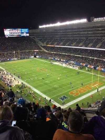 Soldier Field, secção: 429, fila: 12, lugar: 16