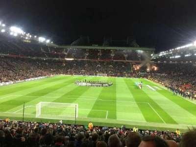 Old Trafford, secção: W206, fila: 20, lugar: 166