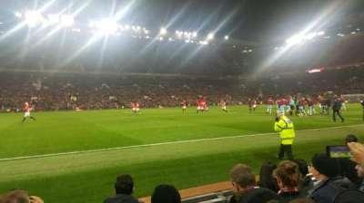 Old Trafford, secção: Sth123, fila: EE, lugar: 176