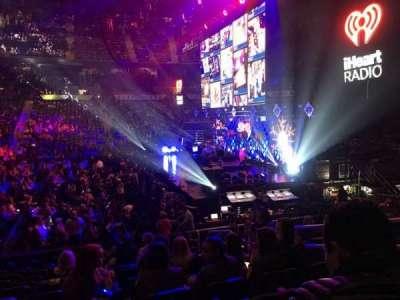 Philips Arena, secção: 103, fila: P, lugar: 5