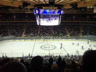 Madison Square Garden secção 211