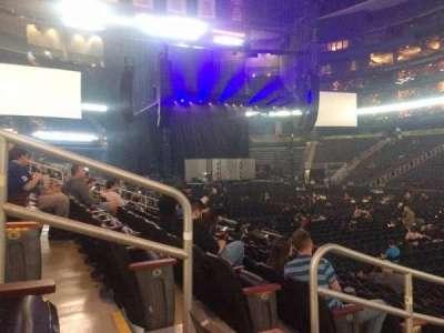 Philips Arena, secção: 113, fila: L, lugar: 11