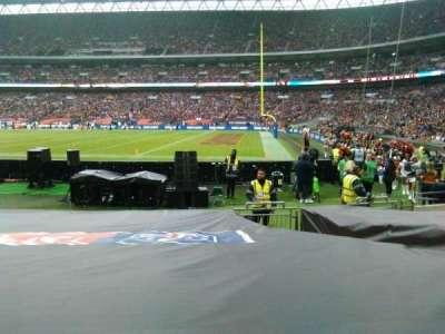 Wembley Stadium, secção: 140, fila: 11, lugar: 202