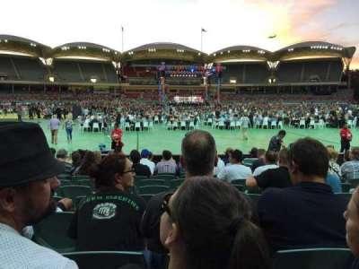 Adelaide Oval, secção: 135, fila: M, lugar: 37