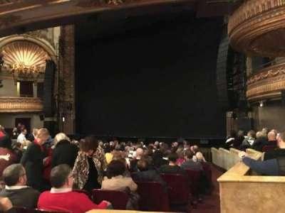 Palace Theatre (Broadway), secção: Orchestra, fila: N, lugar: 4