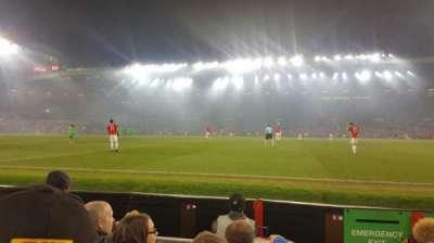 Old Trafford, secção: N1408, fila: DD, lugar: 130