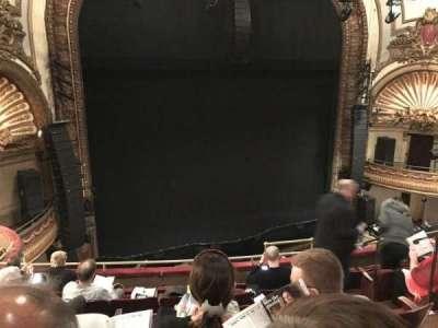 Palace Theatre (Broadway), secção: Mezz, fila: F, lugar: 7