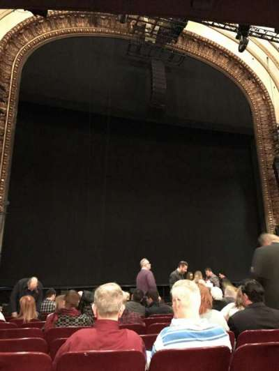 Palace Theatre (Broadway), secção: Orchestra, fila: N, lugar: 119