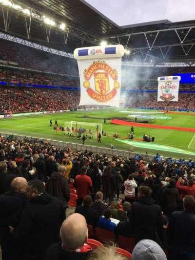 Wembley Stadium, secção: 110, fila: 30, lugar: 223
