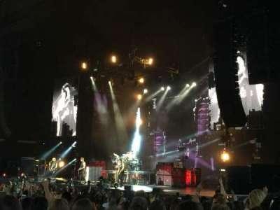 Budweiser Stage, secção: 201, fila: M