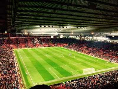 Old Trafford, secção: 3434, fila: 4, lugar: 20
