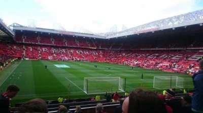 Old Trafford, secção: E233, fila: 10, lugar: 163