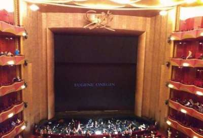 Metropolitan Opera House - Lincoln Center, secção: Balcony, fila: A, lugar: 109