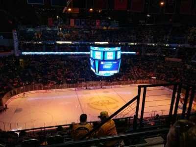 Bridgestone Arena, secção: 324, fila: H, lugar: 3
