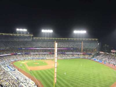 Dodger Stadium secção 54rs