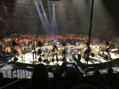 Madison Square Garden, secção: 112, fila: 10, lugar: 1