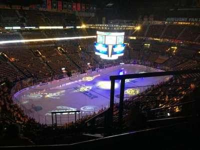 Bridgestone Arena, secção: 305, fila: J, lugar: 2