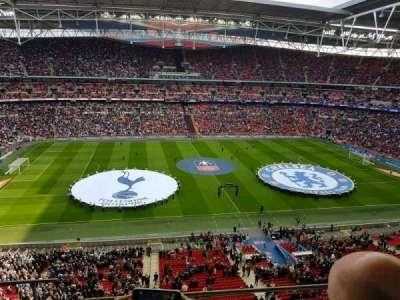 Wembley Stadium, secção: 502, fila: 4, lugar: 482