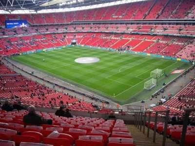 Wembley Stadium, secção: 520, fila: 12, lugar: 198