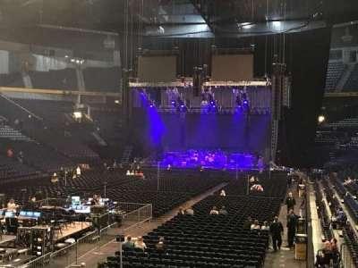 Bridgestone Arena, secção: 102, fila: C, lugar: 19