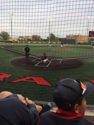 Dan Law Field, secção: B, fila: 4, lugar: 4
