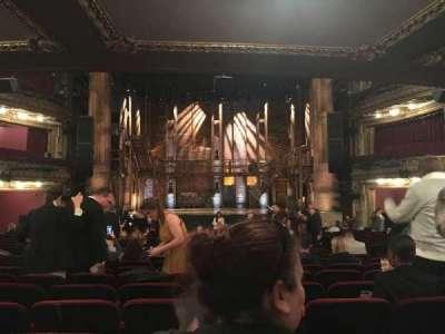 PrivateBank Theatre, secção: orchestra c, fila: w, lugar: 112