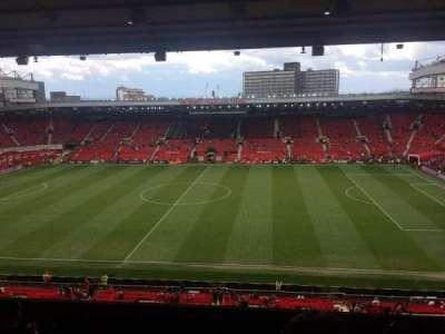 Old Trafford, secção: N3416, fila: 10, lugar: 22