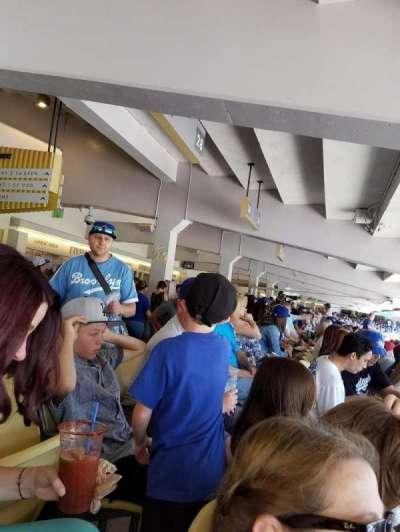 Dodger Stadium secção 30FD