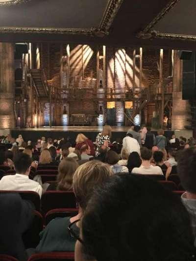 PrivateBank Theatre, secção: Orchestra C, fila: X, lugar: 115