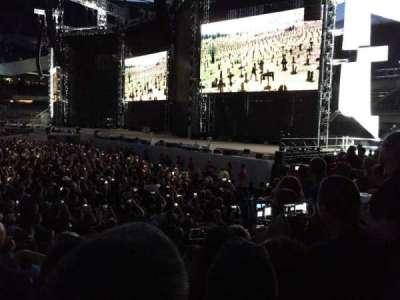 Soldier Field, secção: 104, fila: 4, lugar: 6