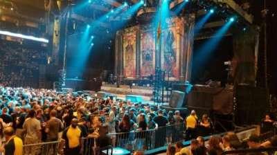 Bridgestone Arena, secção: 106, fila: EE, lugar: 4