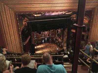 PrivateBank Theatre, secção: Balcony L, fila: L, lugar: 3