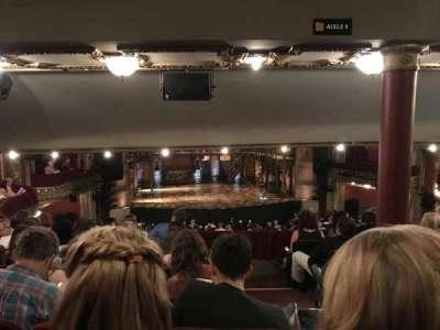 PrivateBank Theatre, secção: Dress Circle LC, fila: G, lugar: 221