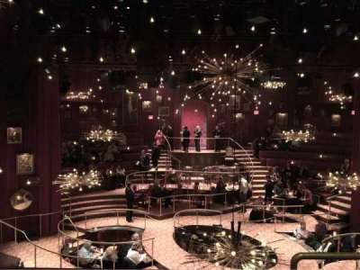 Imperial Theatre, secção: Front Mezzanine, fila: B, lugar: 104