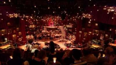 Imperial Theatre, secção: Rear Mezzanine, fila: E, lugar: 6