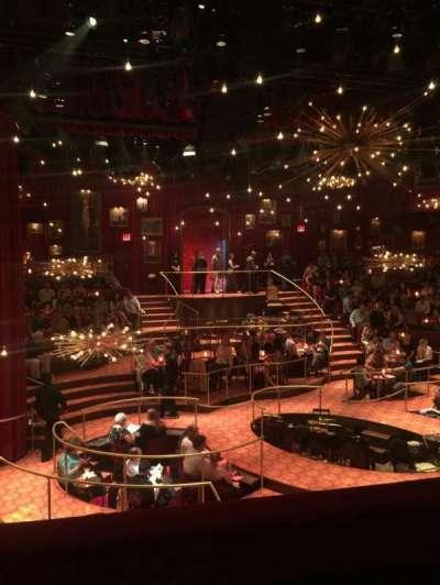 Imperial Theatre, secção: Front Mezzanine Center, fila: A, lugar: 10