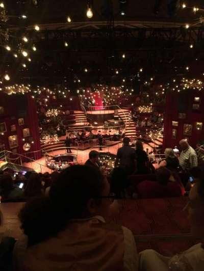Imperial Theatre, secção: Rear Mezzanine, fila: F, lugar: 110