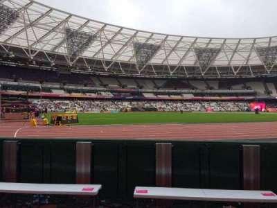 London Stadium secção 131