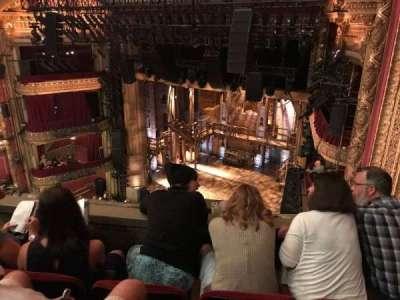 PrivateBank Theatre, secção: Balcony R, fila: C, lugar: 2