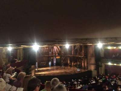 PrivateBank Theatre, secção: Dress Circle L, fila: D, lugar: 1