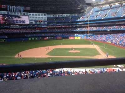 Rogers Centre, secção: 228, fila: R